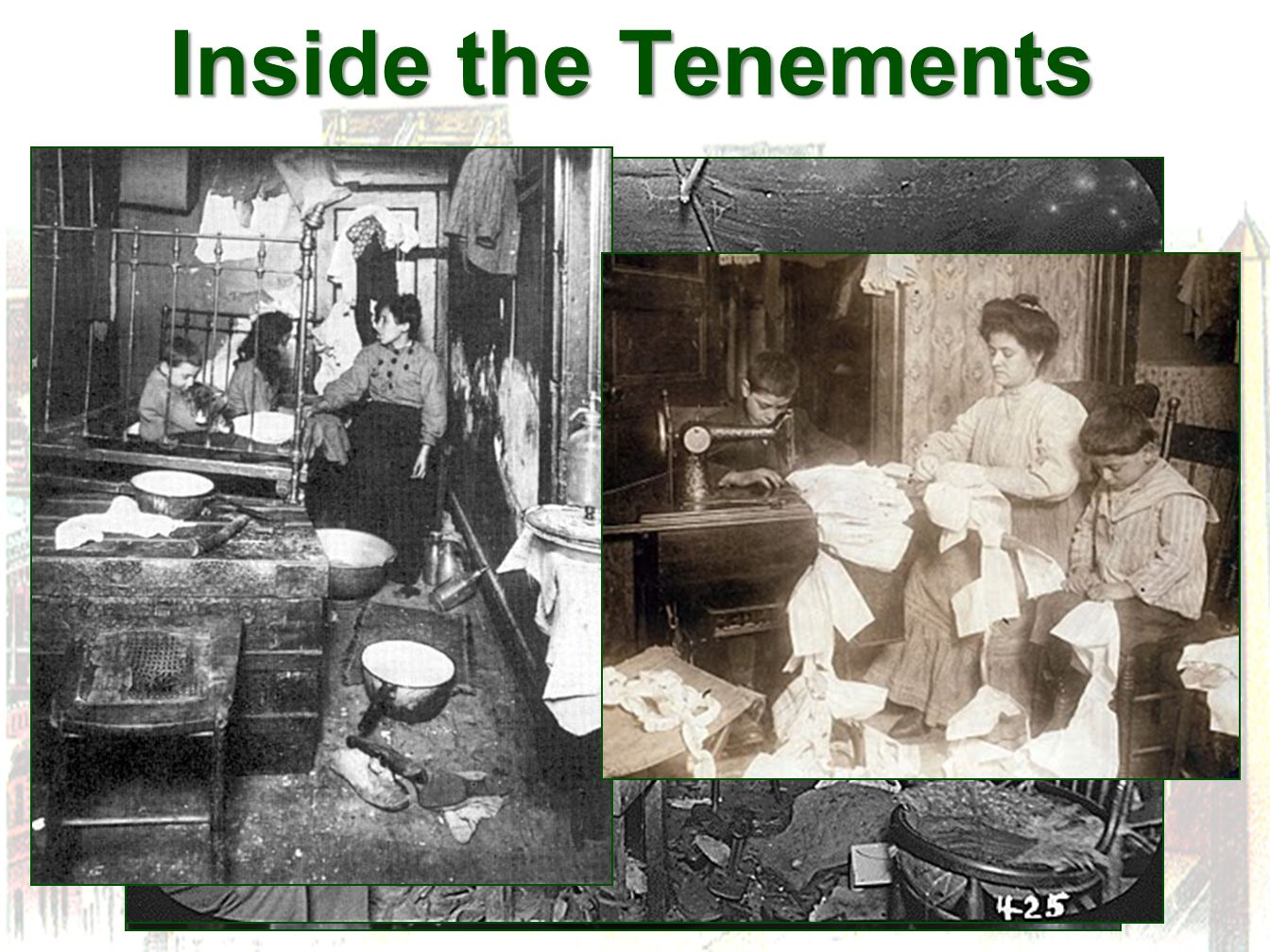 Inside the Tenements