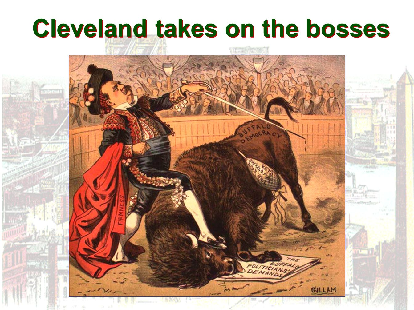 Cleveland takes on the bosses