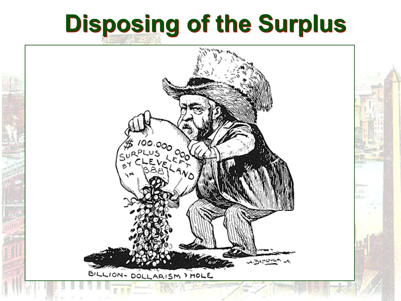 Disposing of the Surplus