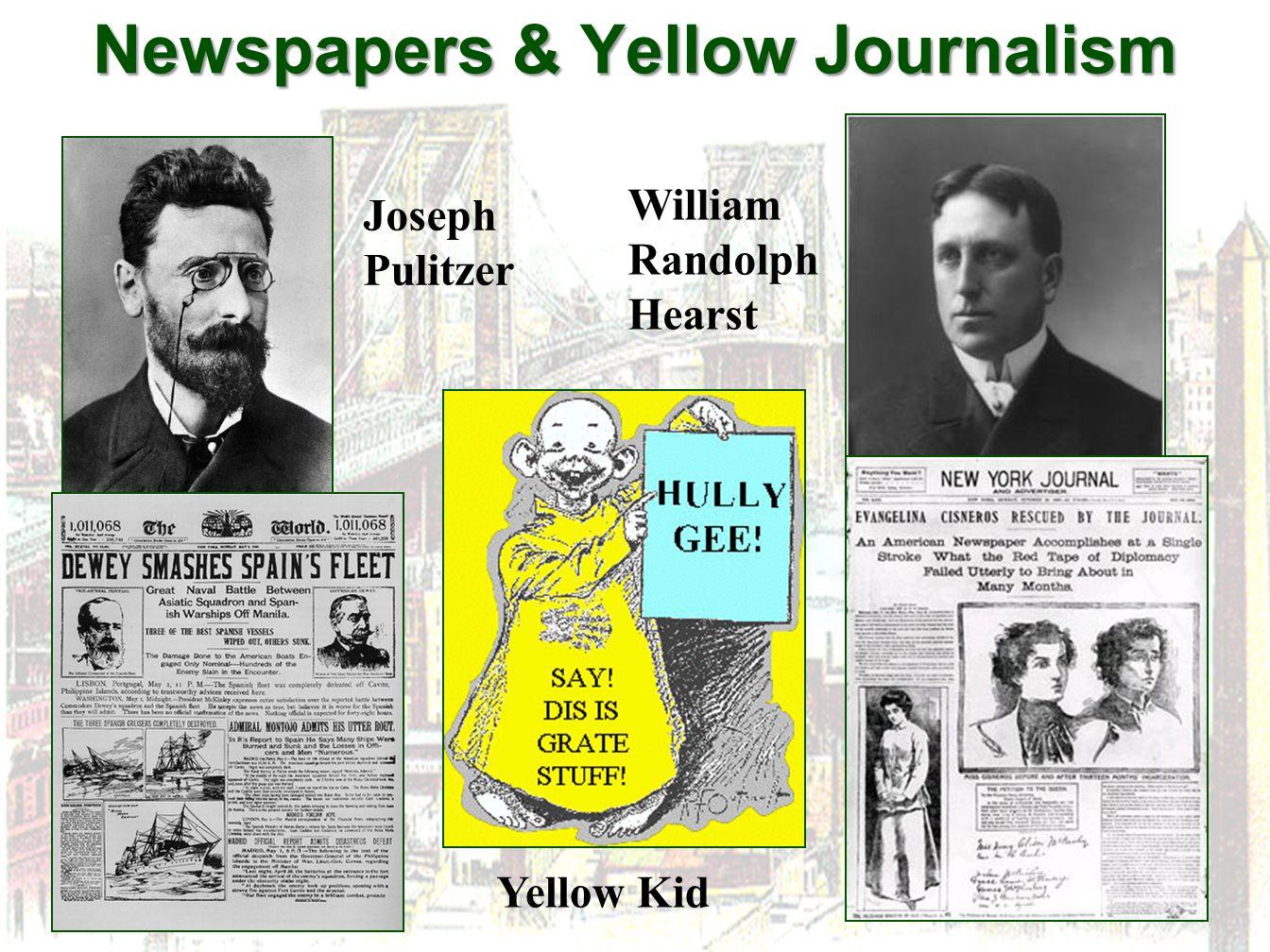 Newspapers & Yellow Journalism