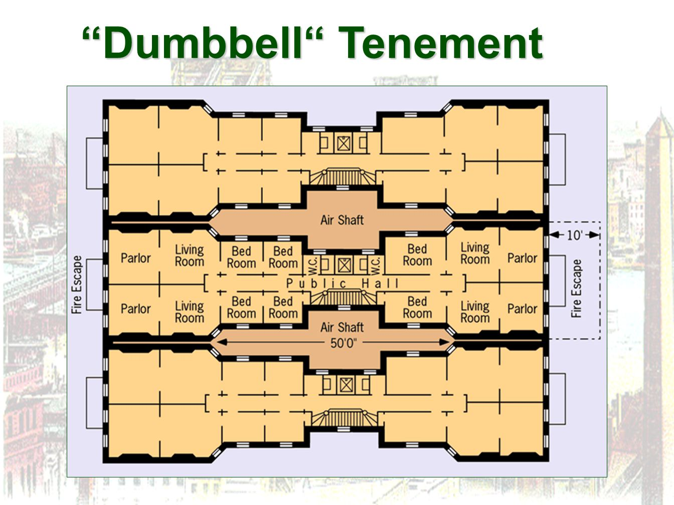 Dumbbell Tenement