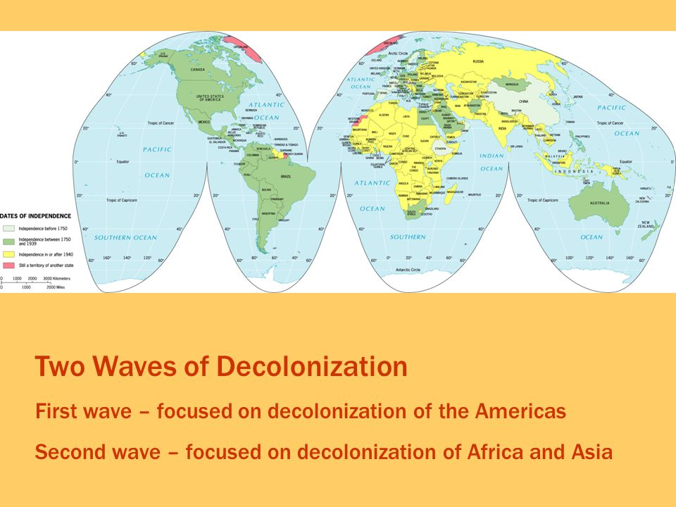 Two Waves of Decolonization