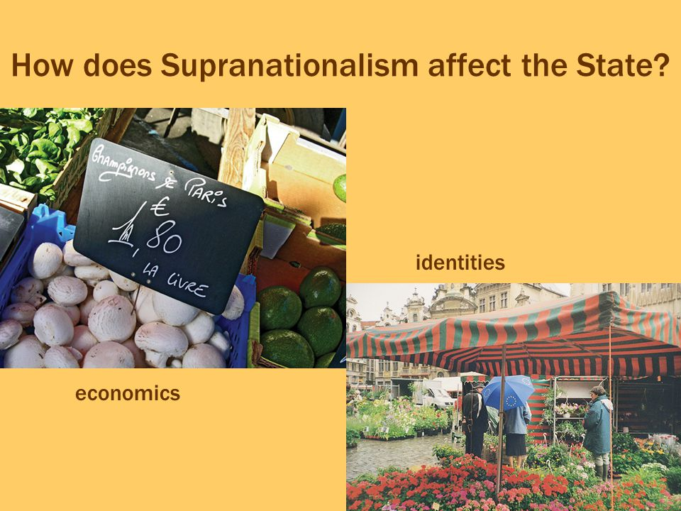 How does Supranationalism affect the State