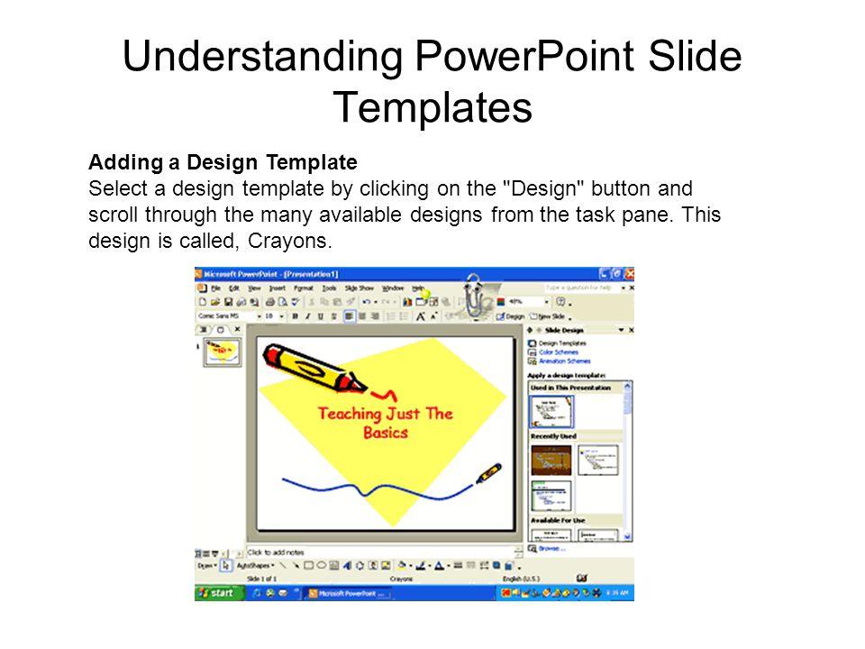 Understanding PowerPoint Slide Templates