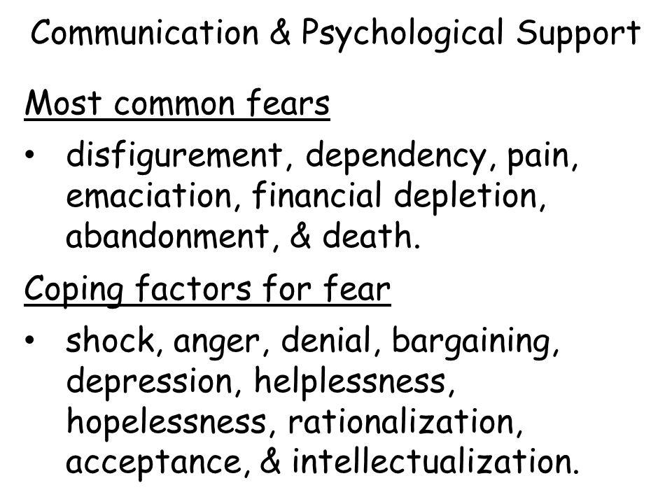 Communication & Psychological Support