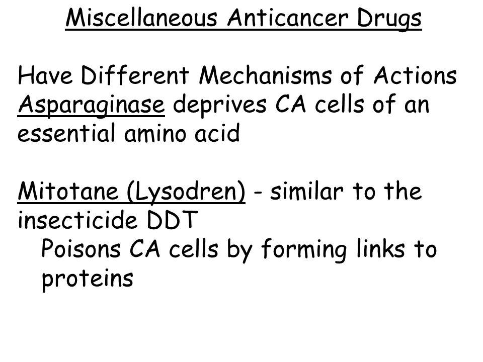 Miscellaneous Anticancer Drugs