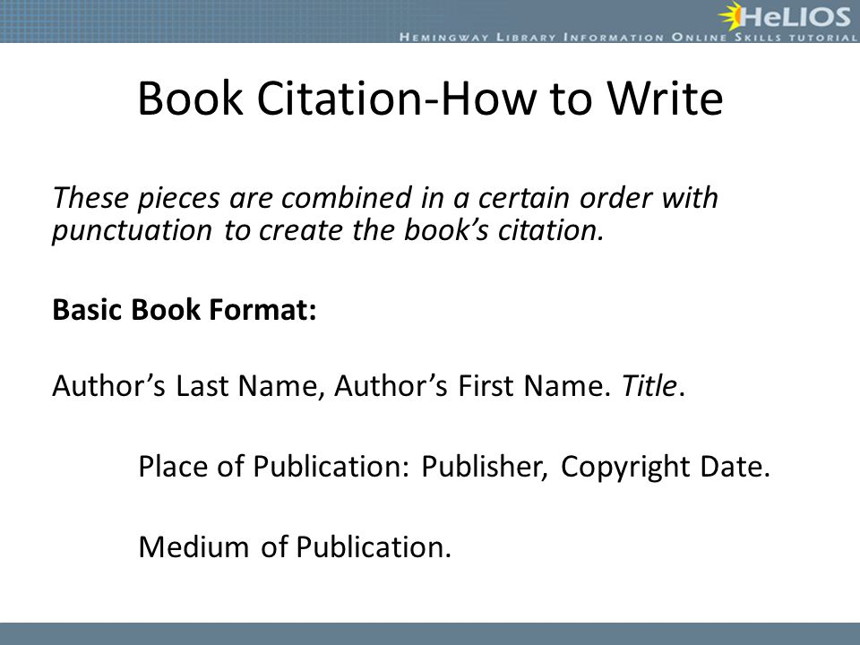 APA Citation Guide: Home