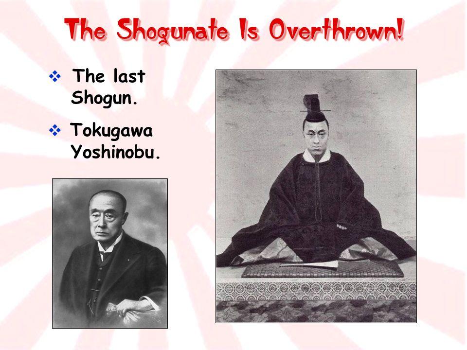 The Shogunate Is Overthrown!