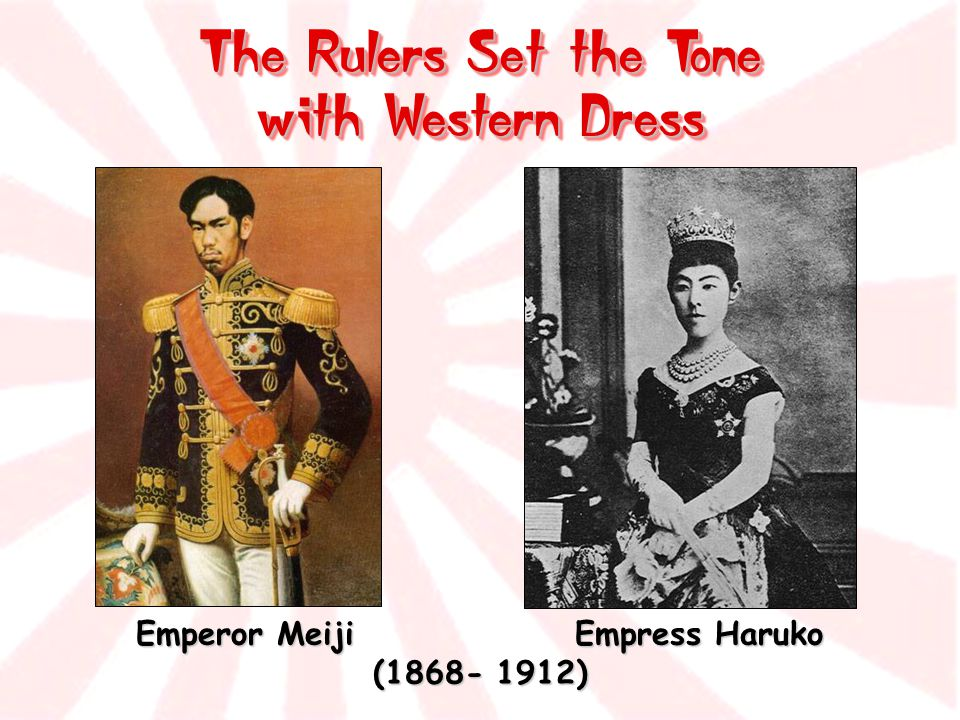 The Rulers Set the Tone with Western Dress