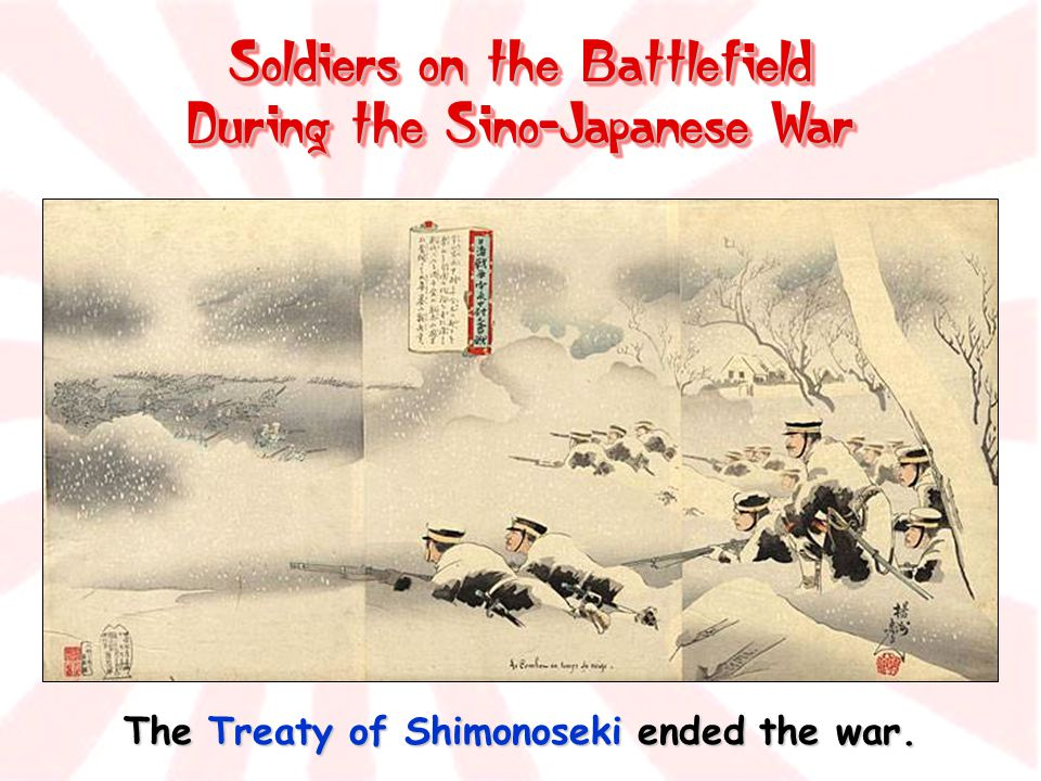 Soldiers on the Battlefield During the Sino-Japanese War