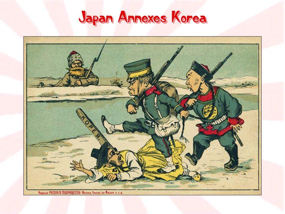 Japan Annexes Korea
