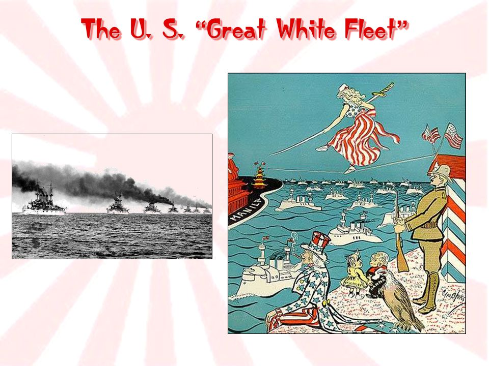 The U. S. Great White Fleet