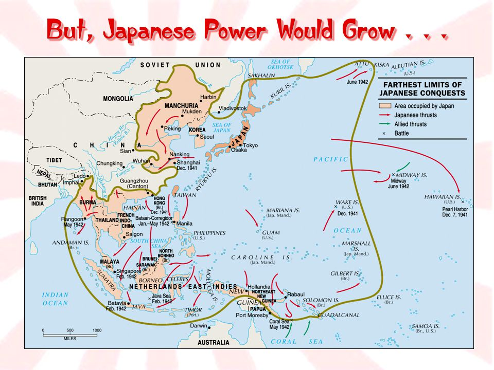 But, Japanese Power Would Grow . . .