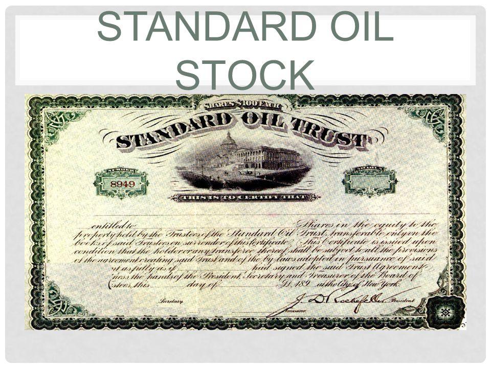 Standard Oil Stock