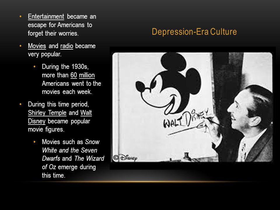 Depression-Era Culture