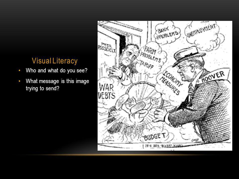 Visual Literacy Who and what do you see