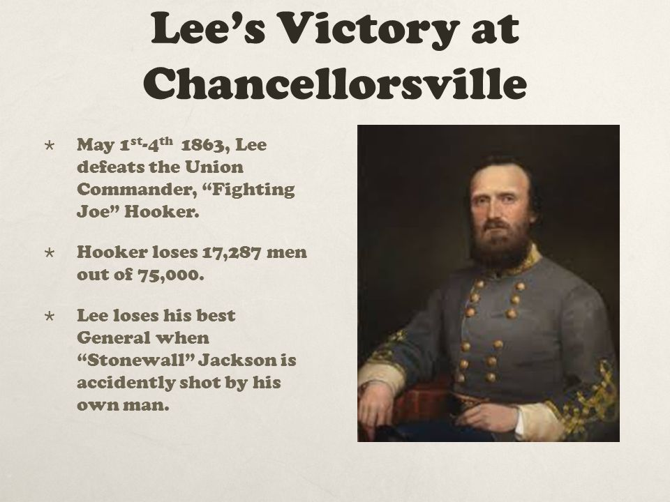 Lee's Victory at Chancellorsville