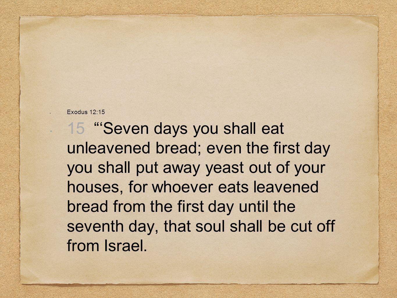 Exodus 12:15