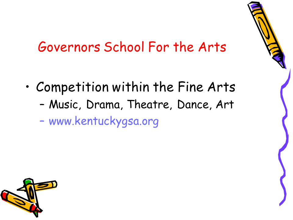 Governors School For the Arts