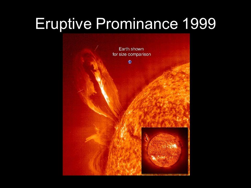 Eruptive Prominance 1999