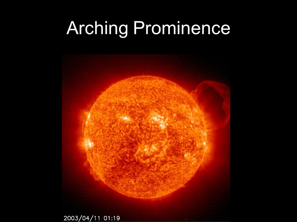 Arching Prominence