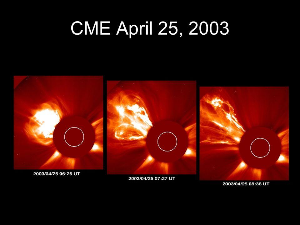 CME April 25, 2003