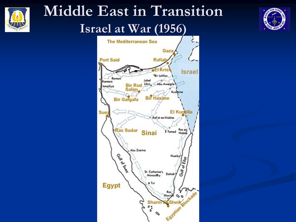 Middle East in Transition Israel at War (1956)