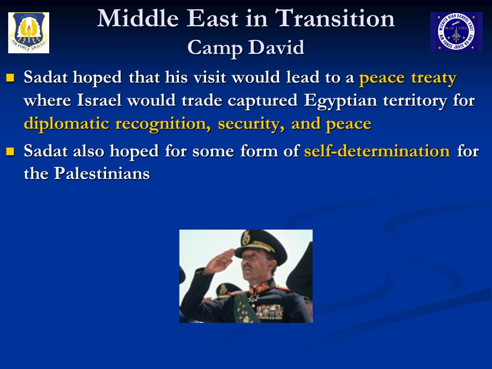 Middle East in Transition Camp David