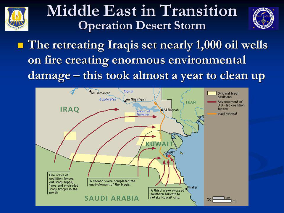 Middle East in Transition Operation Desert Storm