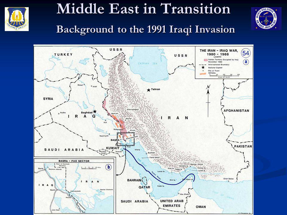 Middle East in Transition Background to the 1991 Iraqi Invasion