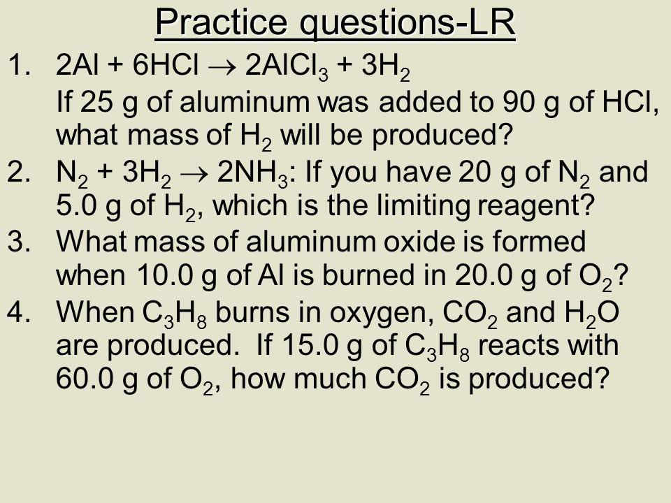 Practice questions-LR
