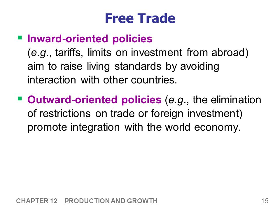 Free Trade Recall: Trade can make everyone better off.