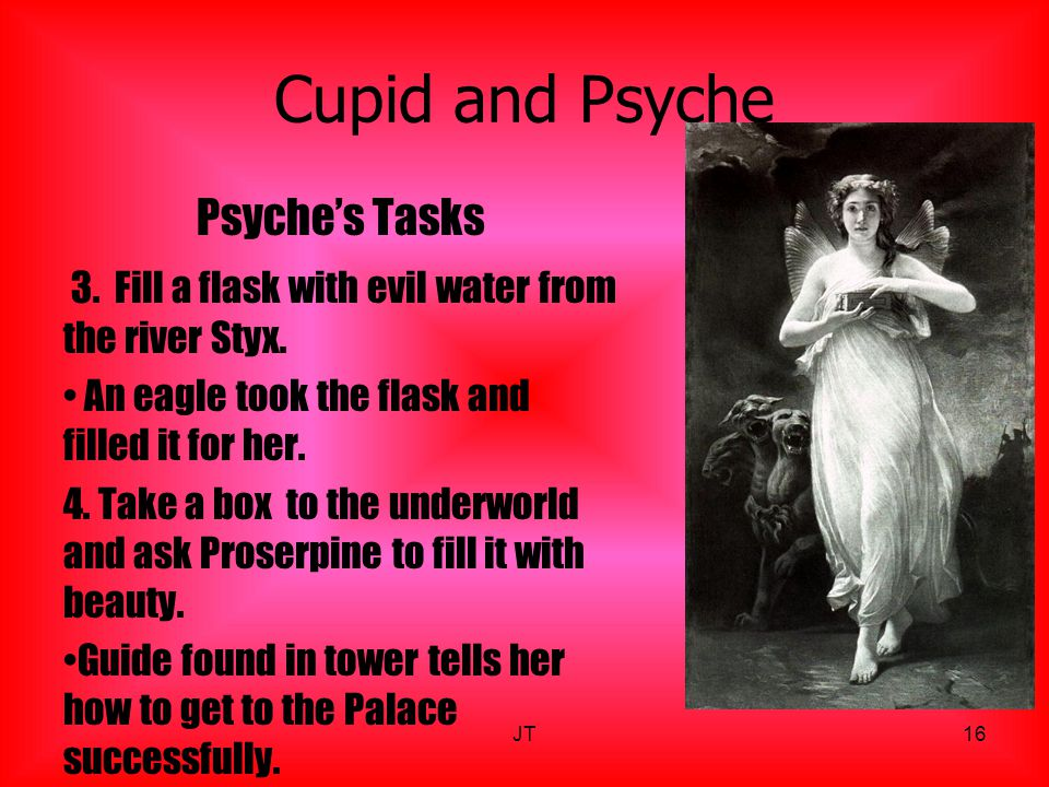 Cupid and Psyche Psyche's Tasks