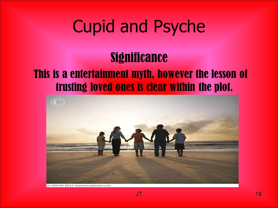Cupid and Psyche Significance