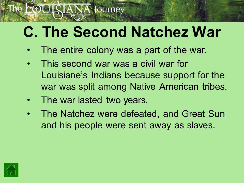 C. The Second Natchez War