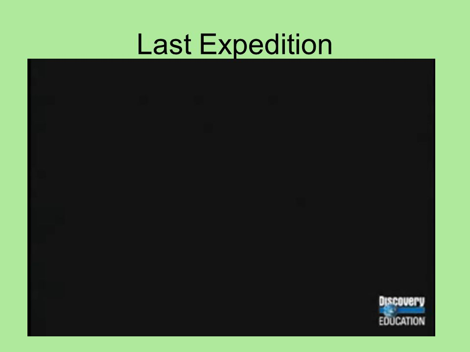 Last Expedition