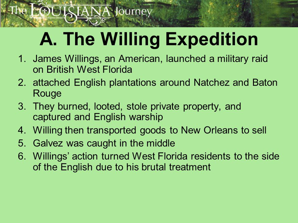 A. The Willing Expedition