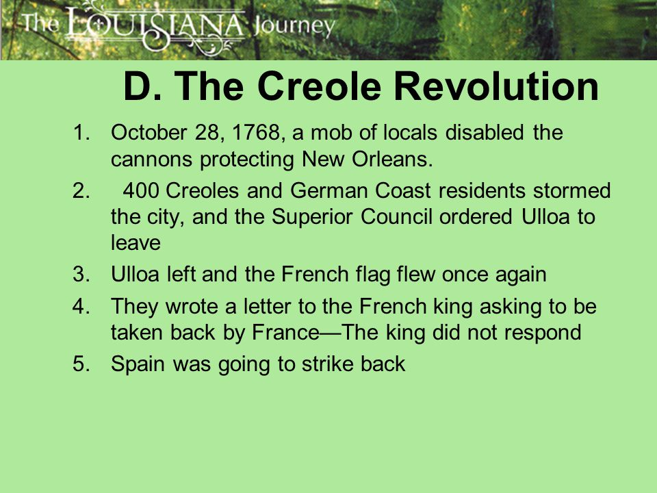 D. The Creole Revolution