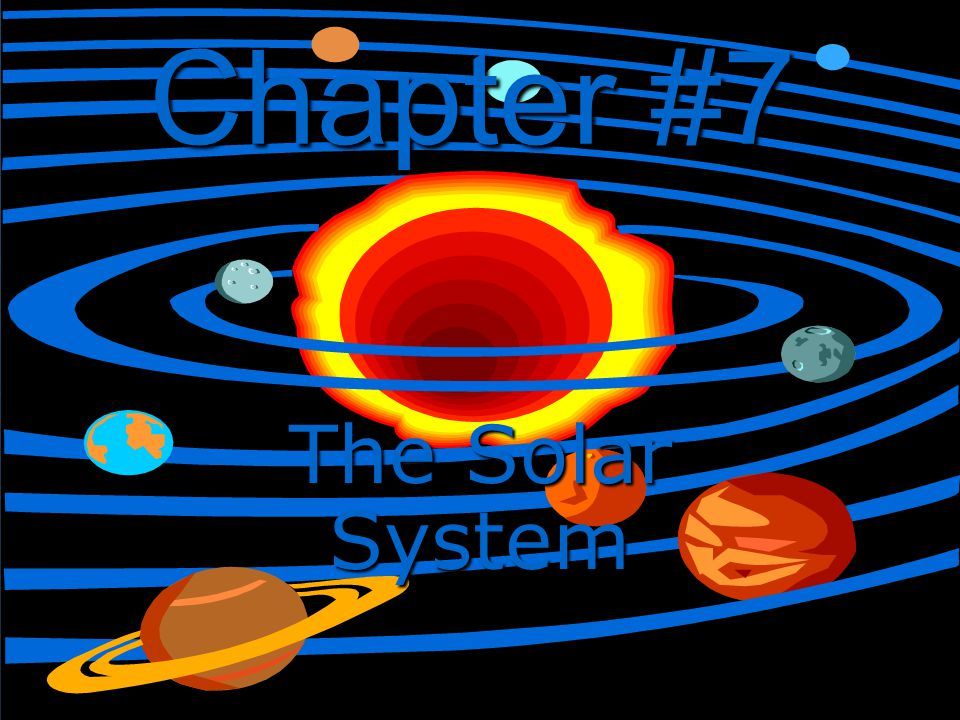 Chapter #7 The Solar System