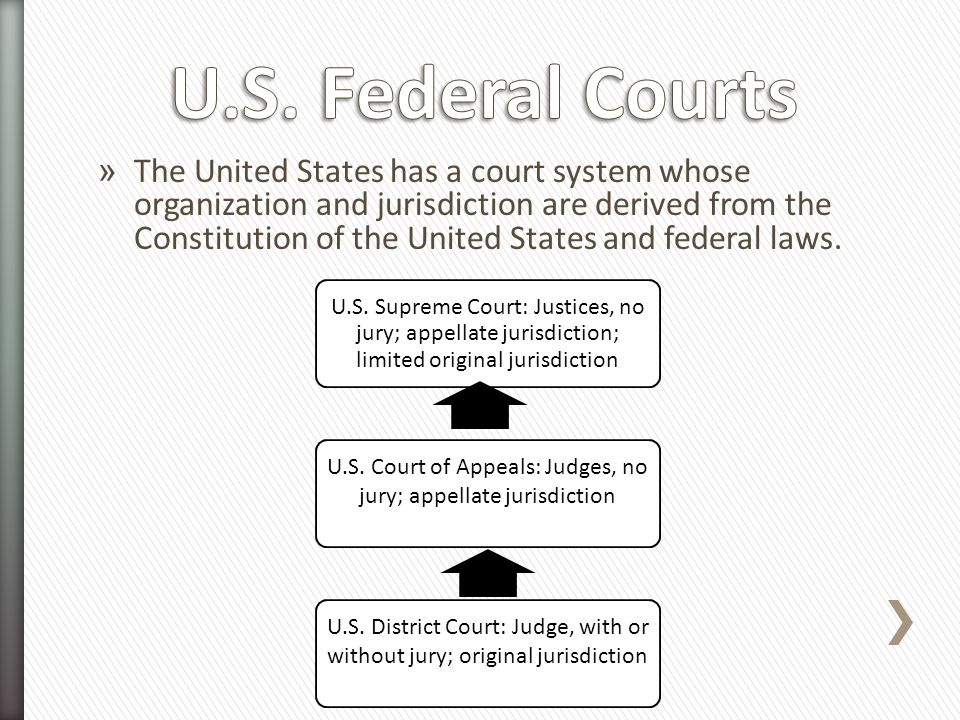 U.S. Court of Appeals: Judges, no jury; appellate jurisdiction