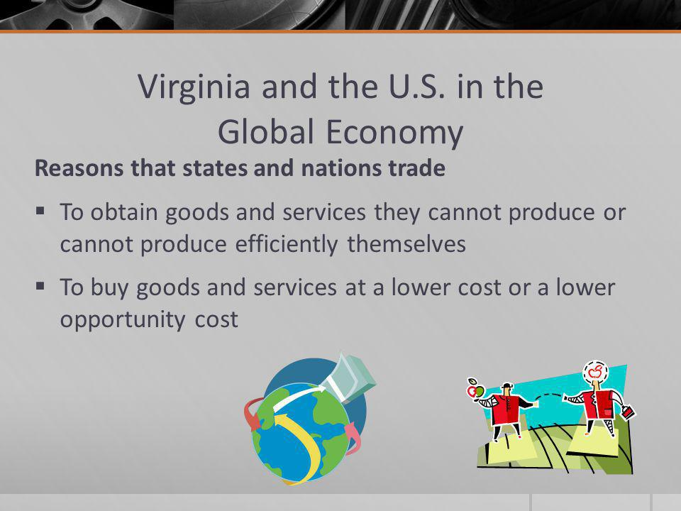 Virginia and the U.S. in the Global Economy