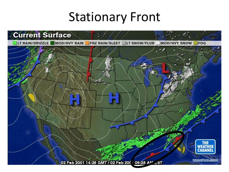 Air Masses And Fronts Weather Patterns Ppt Download