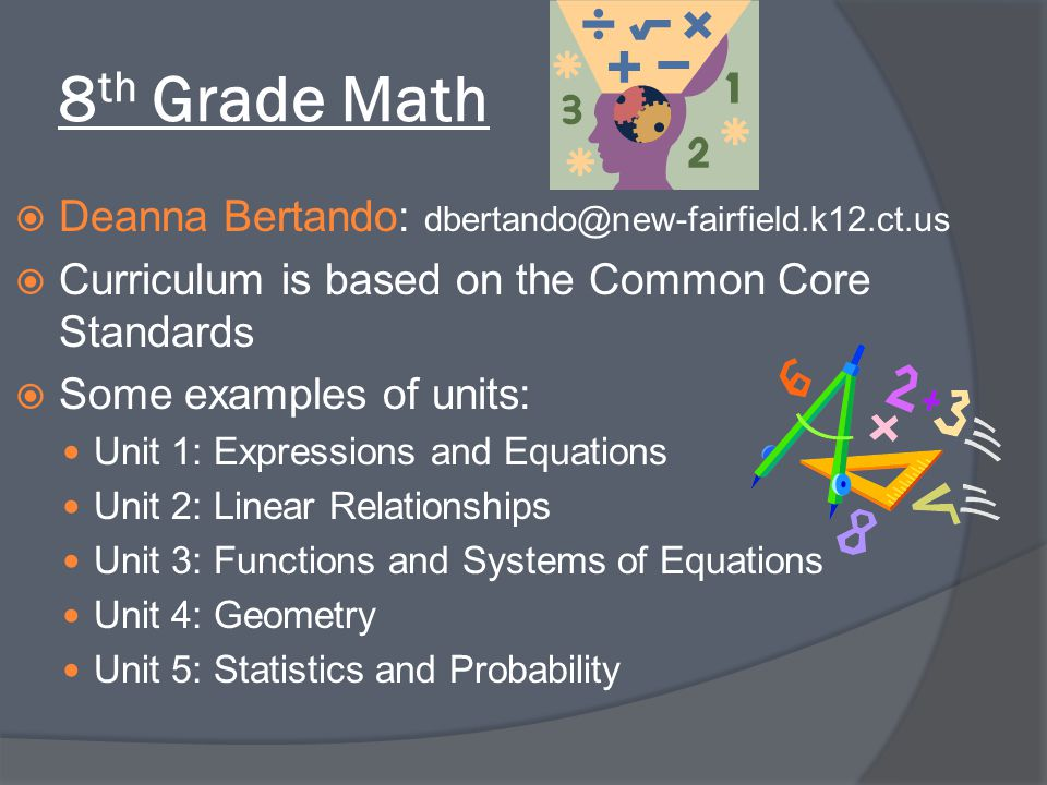 8th Grade Math Deanna Bertando: dbertando@new-fairfield.k12.ct.us