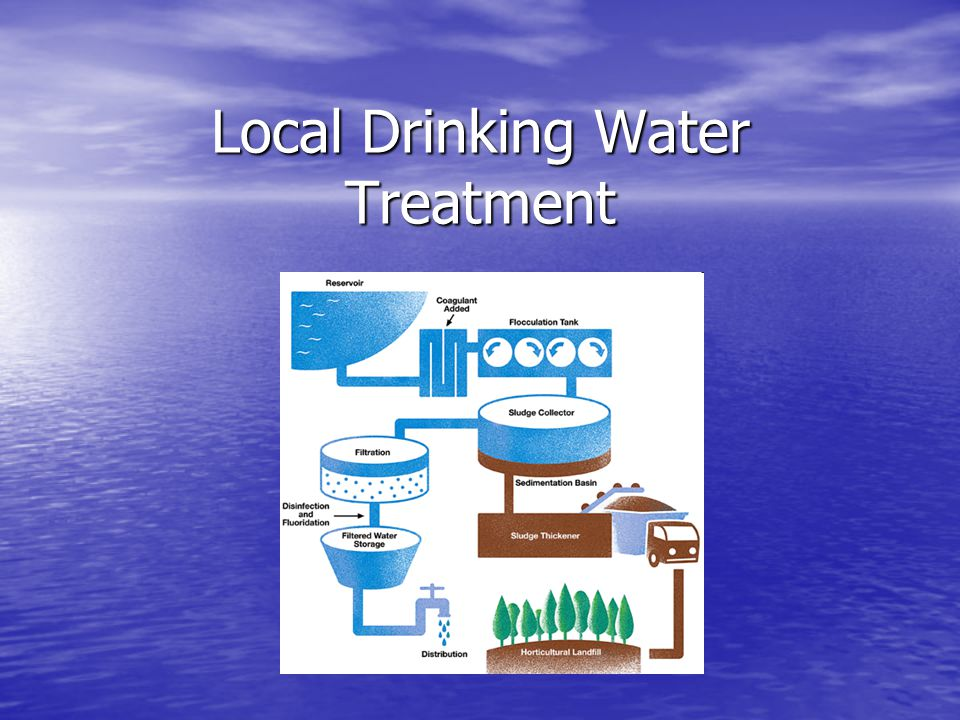 Local Drinking Water Treatment