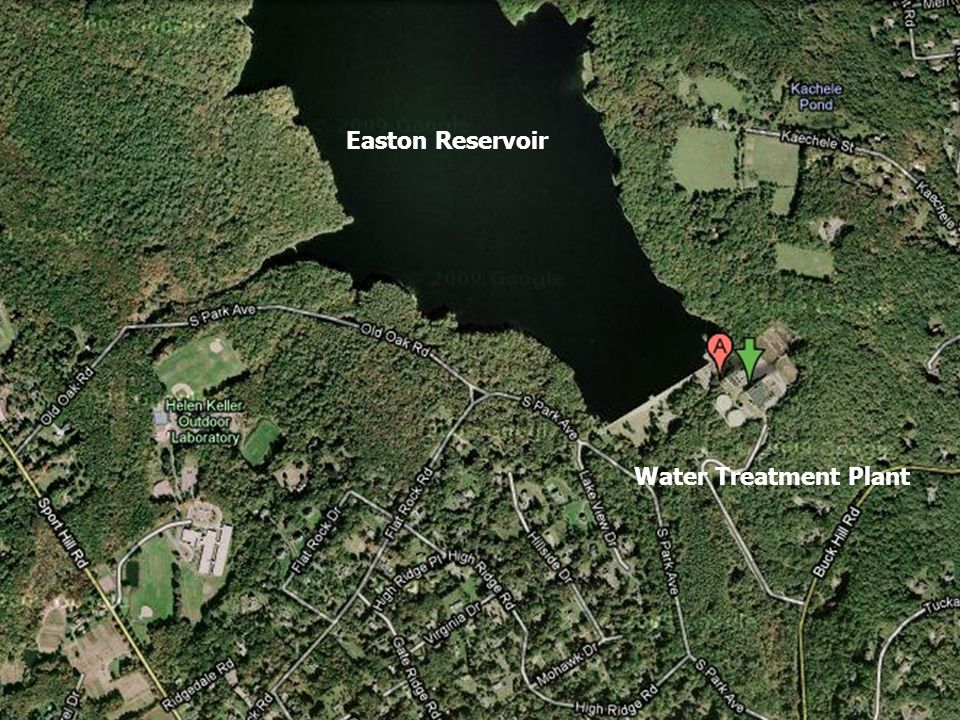 Easton Reservoir Water Treatment Plant