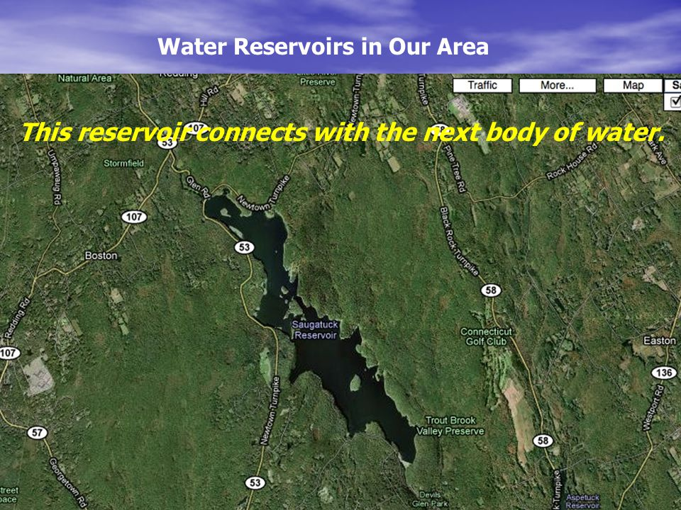 Water Reservoirs in Our Area