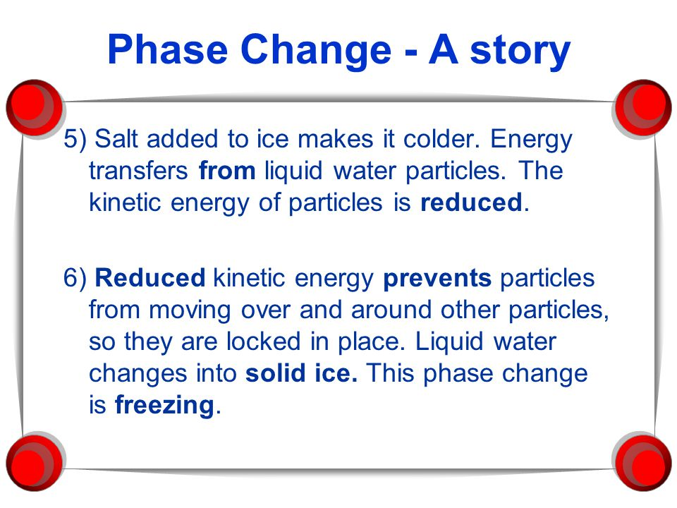 Phase Change - A story
