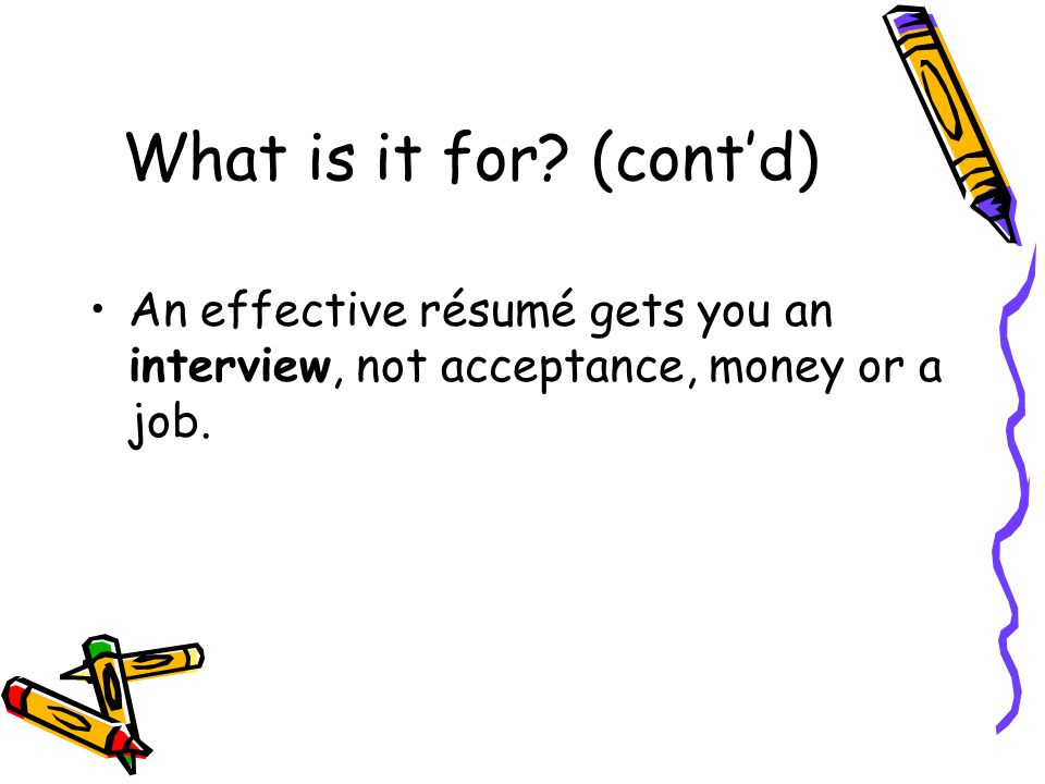 what why résumé writing what why ppt video online download