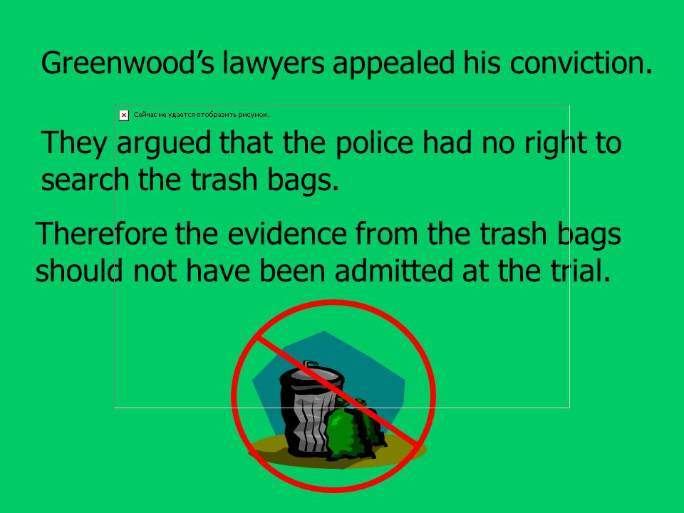Greenwood's lawyers appealed his conviction.