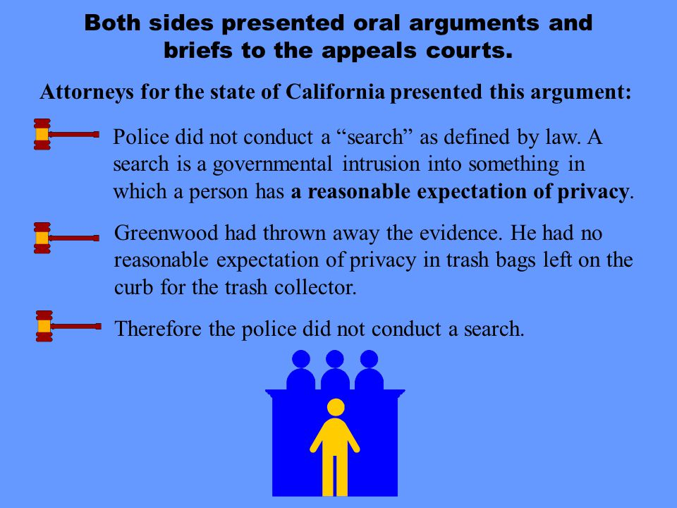 Attorneys for the state of California presented this argument: